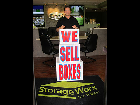 We Sell Boxes Display
