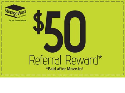 $50 Referral Reward - tell your friends about us!